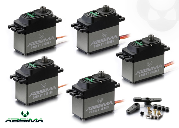 Absima Combat Competition Servos Series