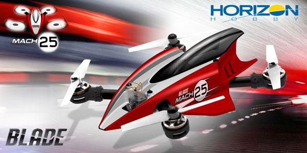 Horizon Hobby Mach 25 FPV Racing Quad