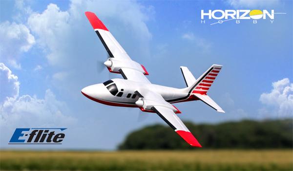 Horizon Hobby UMX Aero Commander 715mm