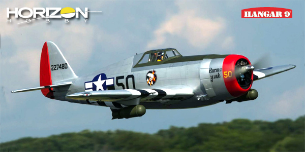 Horizon Hobby HANGAR 9 P-47D Thunderbolt ARF