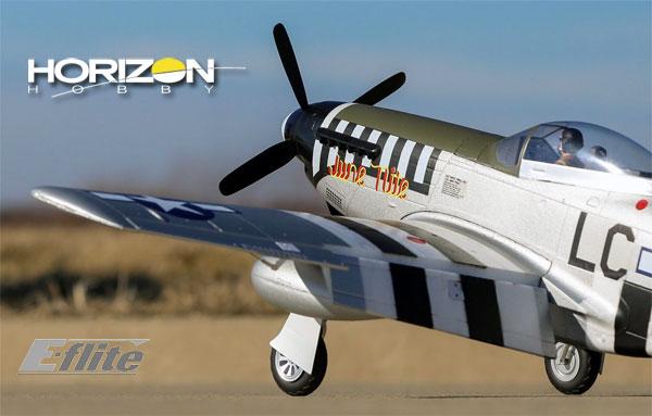 Horizon Hobby P-51D Mustang 1.2m