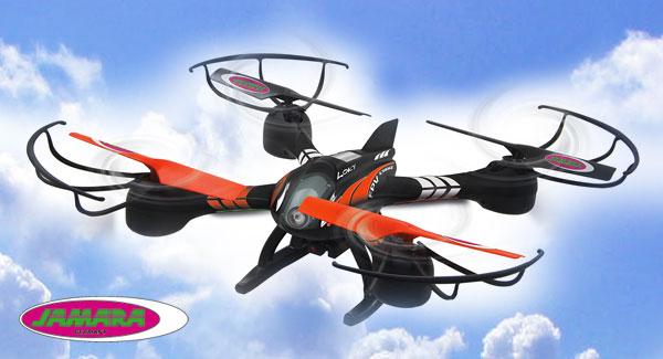 Jamara Quadrocopter Loky mit FPV Funktion