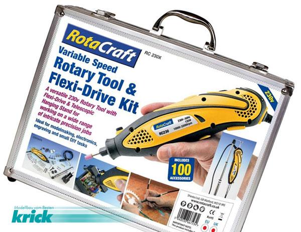 Krick RC230X Multiwerkzeug inkl. Flexwelle