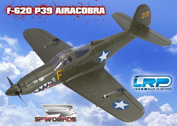 LRP F-620 P39 Airacobra Speedbird ARF