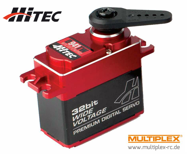 Multiplex Hitec Servo D941TW Full Metal Case