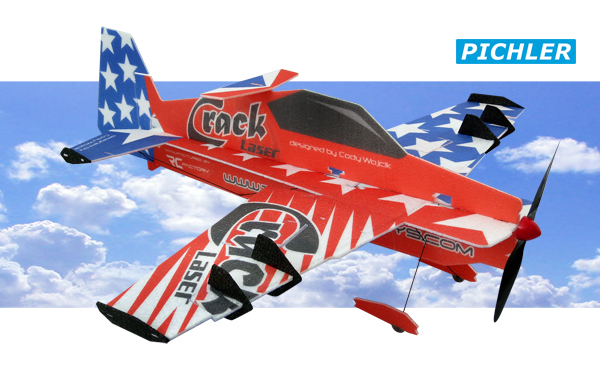 Pichler Crack Laser Indoor Flugmodell
