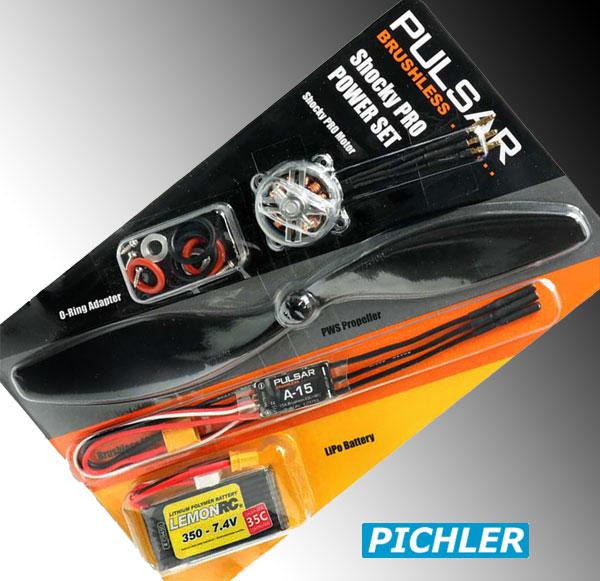 Pichler Brushless Shocky Pro Power Set