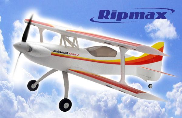 Ripmax Wots wot Foam-E ARTF Doppeldecker