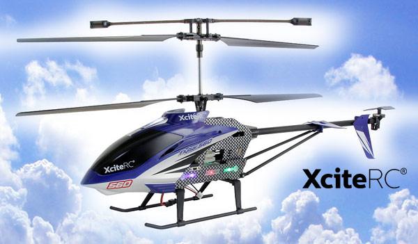 XciteRC Flybar 560XXL Coax - 3,5 Kanal RTF