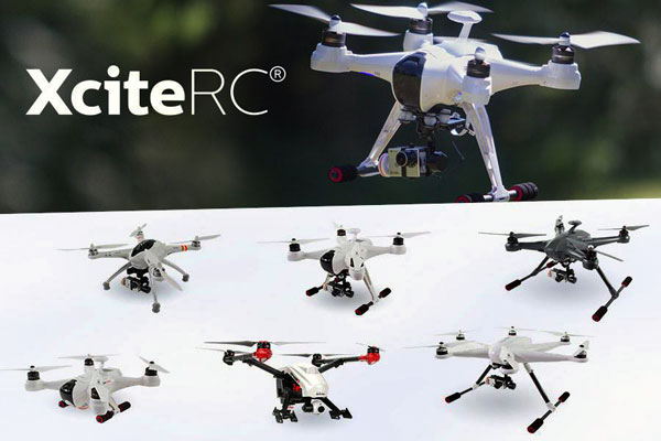XciteRC XciteRC erweitert Copter-Programm