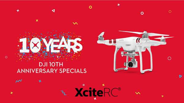 XciteRC Feiern Sie mit XciteRC 10 Jahre DJI