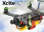 XciteRC FPV Racing-Quadrocopter X160