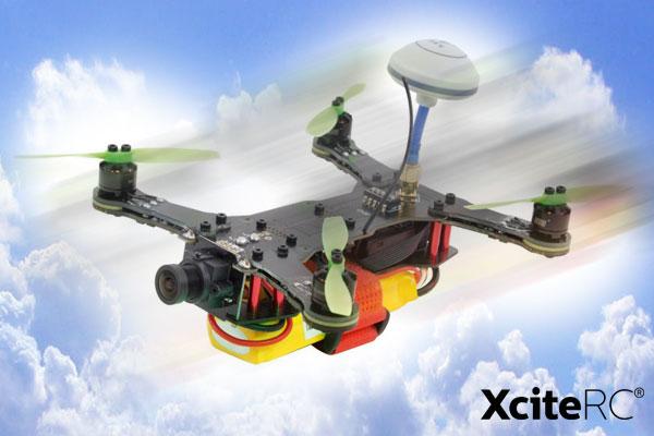 XciteRC FPV Racing-Quadrocopter X160