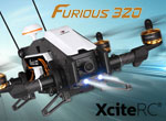 XciteRC FPV Racing-Quadrocopter Furious 320