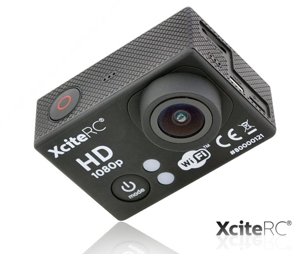 XciteRC WiFi Action-Cam Full HD 12MP