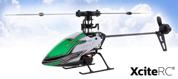 XciteRC Flybarless 245 3D Hubschrauber