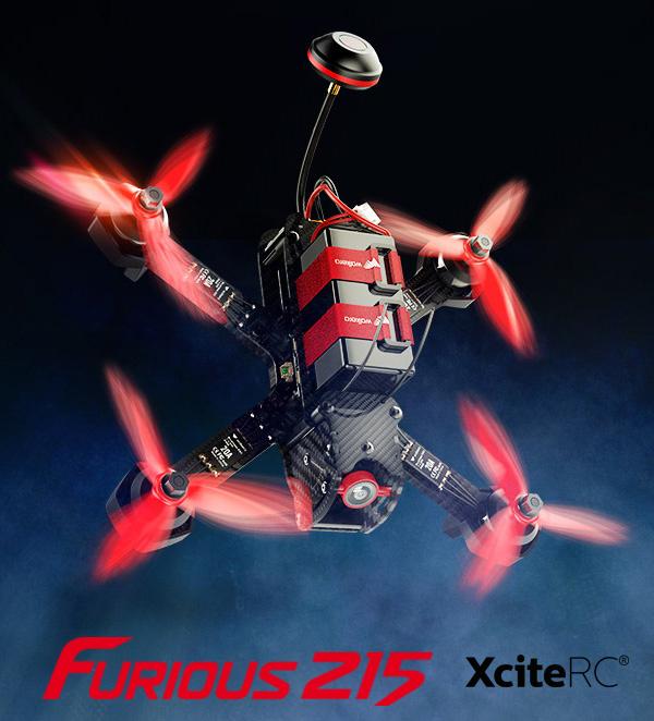 XciteRC Walkera Furious 215 Racing
