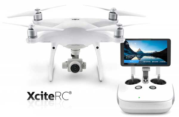 XciteRC DJI Phantom 4 Advanced Plus