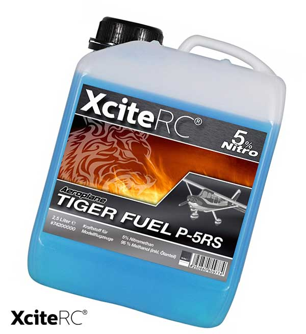 XciteRC Tiger Fuel Aeroplane Pro Kraftstoff