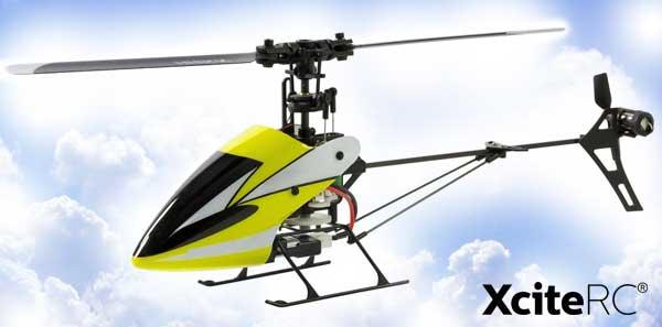 XciteRC Flybarless 245 Trainer Blade V2.0