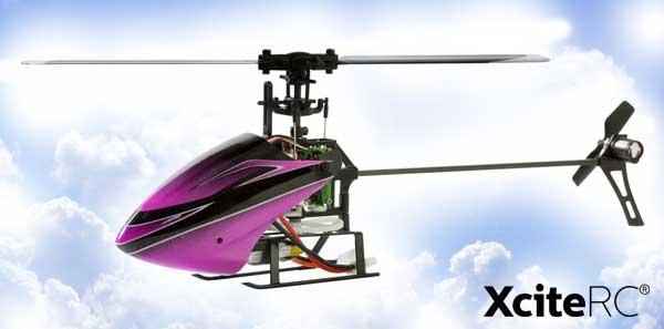 XciteRC Flybarless 200 3D Single Blade V2.0
