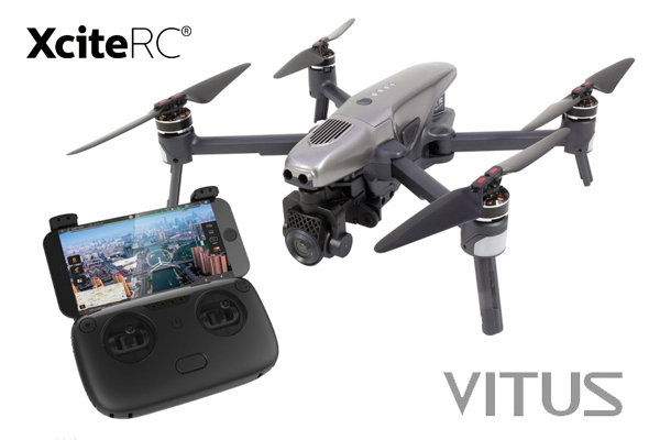 XciteRC Walkera VITUS Portable Quadrocopter