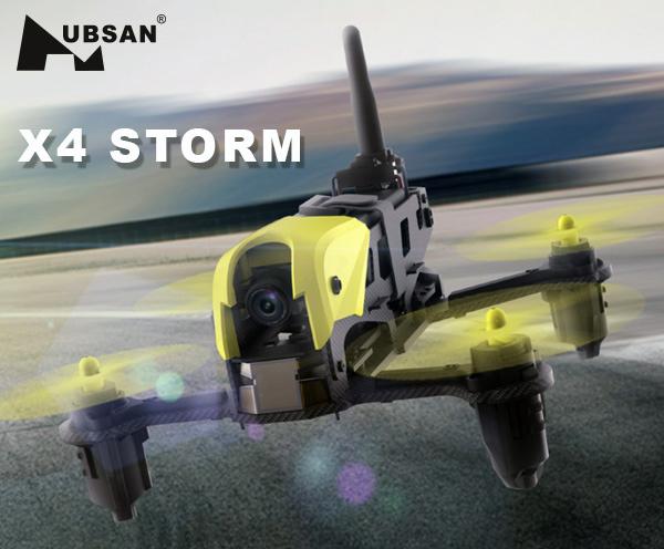 XciteRC Hubsan X4 Storm Fun-Racer mit FPV