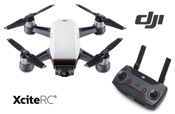 XciteRC DJI Spark Mini Drone Controller Combo